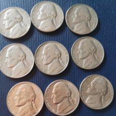 Monedas antiguas de América: MONEDAS 5 CENTAVOS ESTADOS UNIDOS. Lote 173579889