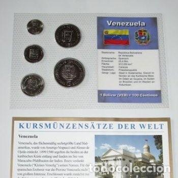 VENEZUELA EN PLÁSTICO 1989 - 1990 (Numismática - Extranjeras - América)