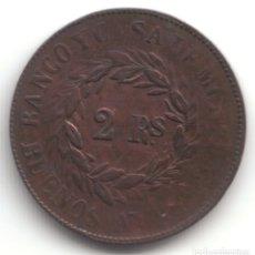 Monedas antiguas de América: ARGENTINA 2 REALES BUENOS AIRES 1860. Lote 173603397