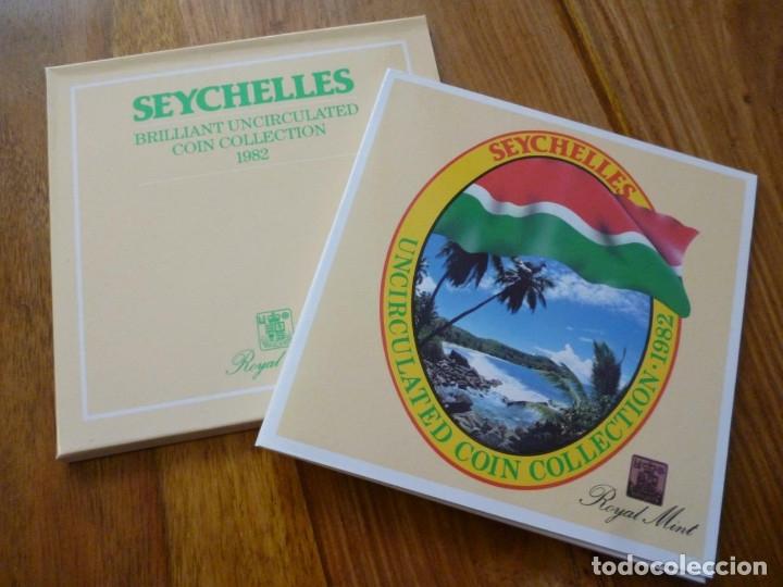 CARTERA SEYCHELLES 1982 (Numismática - Extranjeras - América)