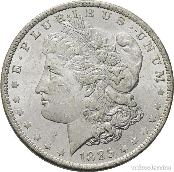 ESTADOS UNIDOS , MORGAN DOLAR, NUEVA ORLEANS 1885, PRECIOSA (Numismática - Extranjeras - América)