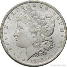 Monedas antiguas de América: ESTADOS UNIDOS , MORGAN DOLAR, NUEVA ORLEANS 1885, PRECIOSA. Lote 173603675
