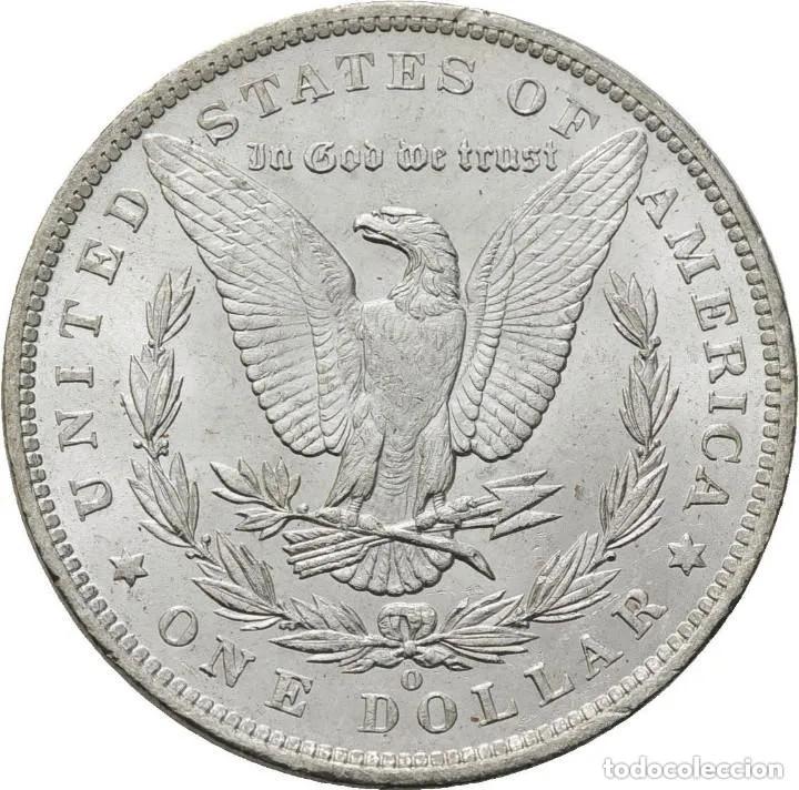 Monedas antiguas de América: Estados Unidos , Morgan dolar, Nueva Orleans 1885, preciosa - Foto 2 - 173603675