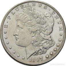 Monedas antiguas de América: ESTADOS UNIDOS , MORGAN DOLAR, FILADELFIA 1887, PRECIOSA. Lote 173603717