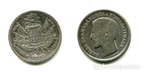 GUATEMALA, 1 REAL PLATA 1864 (Numismática - Extranjeras - América)