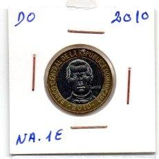 Monedas antiguas de América: MEC 62 / REPUBLICA DOMINICANA 5 PESOS 2010 SANHEZ. Lote 173642559