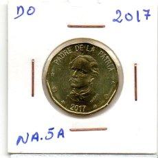 Monedas antiguas de América: MEC 62 / REPUBLICA DOMINICANA 1 PESOS 2017 DUARTE. Lote 173642648
