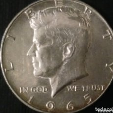 Monedas antiguas de América: MEDIO DÓLAR DE PLATA 1965 ESTADOS UNIDOS.. Lote 173837460