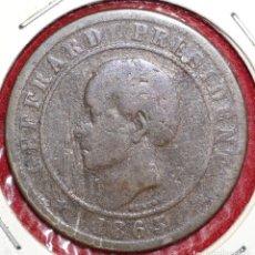 Monedas antiguas de América: HAITÍ, 20 CÉNTIMOS 1863. Lote 173942528