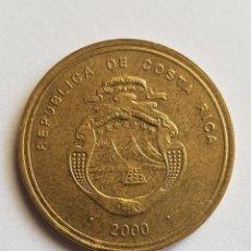Monedas antiguas de América: MONEDA CONMEMORATIVA 500 COLONES AÑO 2000, COSTA RICA.. Lote 174006533