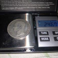 Monedas antiguas de América: MONEDA DE 5 BOLÍVARES PLATA DE 1935. Lote 174155114