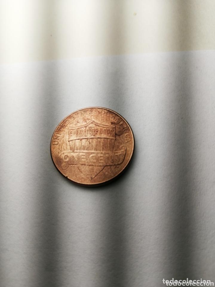 Monedas antiguas de América: Monedas USA one cent 2010 D - Foto 2 - 174166304
