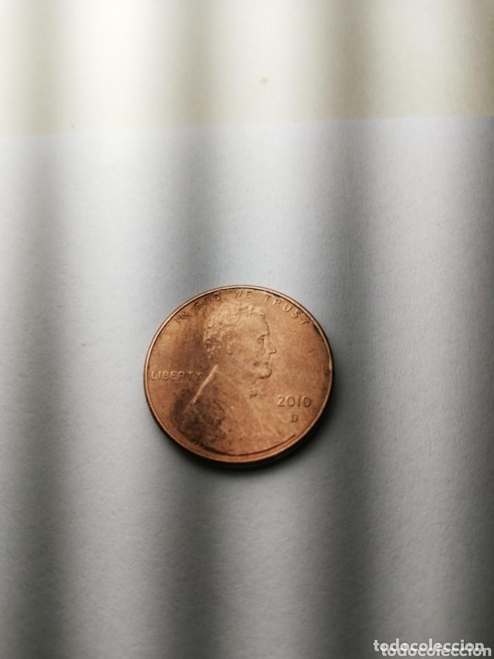 MONEDAS USA ONE CENT 2010 D (Numismática - Extranjeras - América)