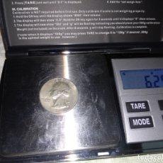 Monedas antiguas de América: LOTE 3 MONEDAS AMERICANAS DE PLATA. Lote 174183395