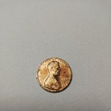 Monedas antiguas de América: MONEDA USA ONE CENT AÑO 1969 D. Lote 174241419