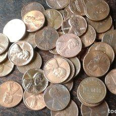 Monedas antiguas de América: ESTADOS UNIDOS 43 MONEDAS 1 CENTAVO. Lote 174557014