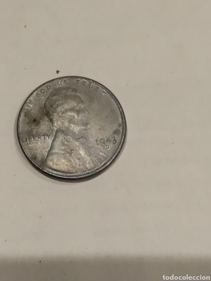 MONEDA ONE CENT 1943D USA. VER FOTO (Numismática - Extranjeras - América)