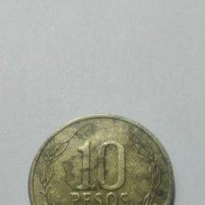 Monedas antiguas de América: D73- MONEDA DE DIEZ PESOS DEL AÑO 2011 DE CHILE. Lote 175342817
