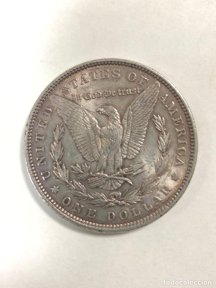 Monedas antiguas de América: DOLAR TIPO MORGAN. AÑO 1885. - Foto 2 - 175480630