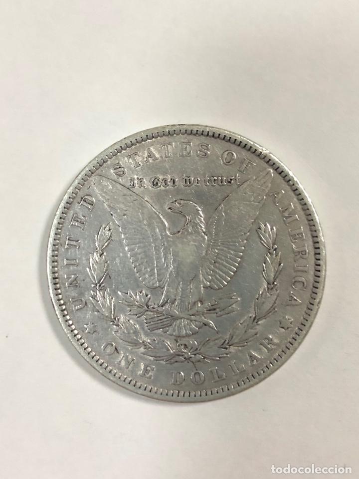 Monedas antiguas de América: DOLAR TIPO MORGAN. AÑO 1891. - Foto 2 - 175480772