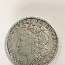 Monedas antiguas de América: DOLAR TIPO MORGAN. AÑO 1881. . Lote 175481860