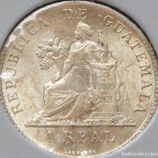 Monedas antiguas de América: GUATEMALA 1 REAL 1899. PLATA SIN CIRCULAR. Lote 175556070