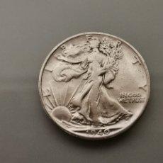 Monedas antiguas de América: MONEDA 1/2 HALF DÓLAR LIBERTY 1940 USA PLATA 900. Lote 175613327