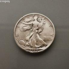 Monedas antiguas de América: MONEDA 1/2 HALF DÓLAR LIBERTY USA 1936 PLATA 900. Lote 175615719