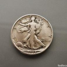Monedas antiguas de América: MONEDA 1/2 HALF DÓLAR LIBERTY USA 1944 S SAN FRANCISCO DIFÍCIL PLATA 900. Lote 175616838