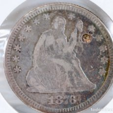 Monedas antiguas de América: EE.UU / USA. LIBERTAD SENTADA.1/4 DÓLAR, PLATA.1976. Lote 187483701