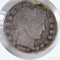 Monedas antiguas de América: CABEZA LIBERTAD. 1908. PLATA. Lote 176019814