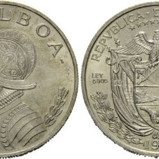 Monedas antiguas de América: PANAMA 1 BALBOA PLATA 1966 VASCO NUÑEZ DE BALBOA. Lote 176110734