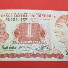 Monedas antiguas de América: 1 LEMPIRA 1992 HONDURAS S/C PLANCHA. Lote 176508292