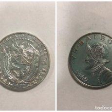 Monedas antiguas de América: PANAMA. UN BALBOA. AÑO 1972. PLATA. . Lote 176625539