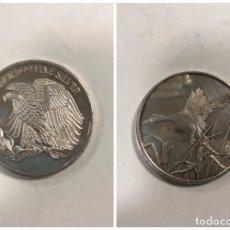 Monedas antiguas de América: ESTADOS UNIDOS. MONEDA DE PLAYA. UNA ONZA DE PLATA. ONE OUNCE .999 FINE SILVER.. Lote 176629012