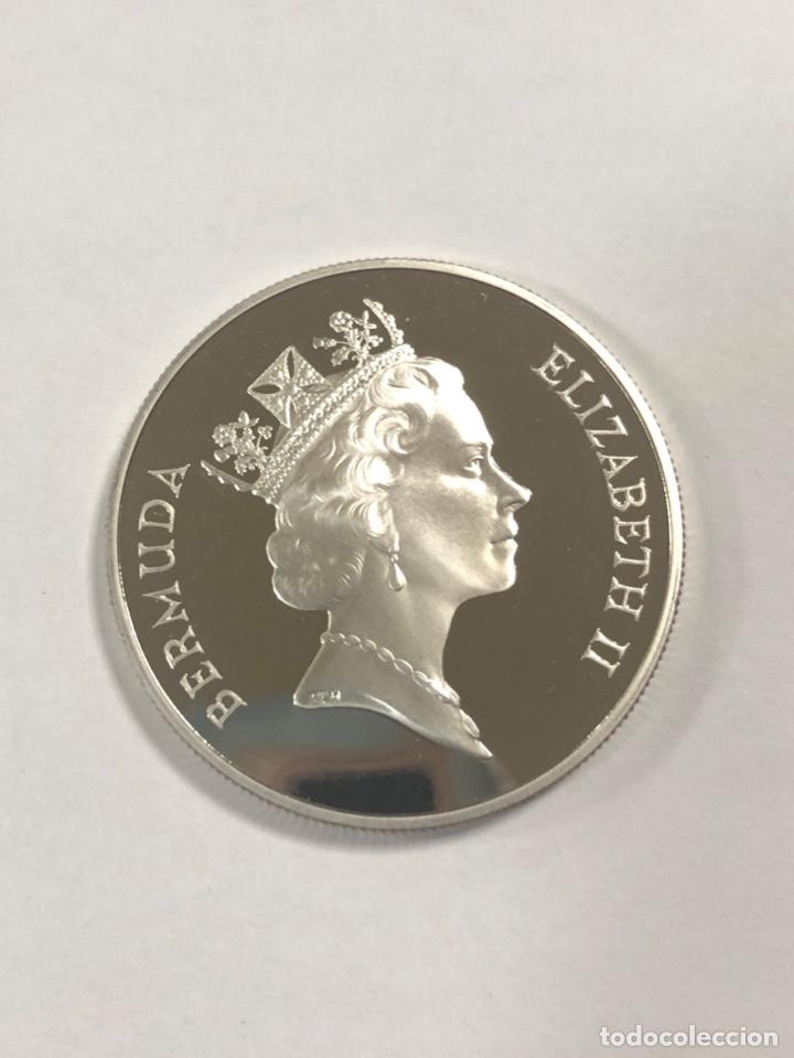 Monedas antiguas de América: BERMUDAS. UN DOLAR. AÑO 1989. PLATA. S/C. 28.1 GR. - Foto 3 - 176721539