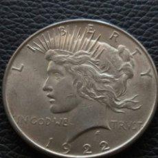Monedas antiguas de América: 1 DOLAR DE PLATA DE 1922 ESTADOS UNIDOS. Lote 175408325