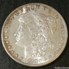 Monedas antiguas de América: 1 DOLLAR AMÉRICANO 1880. Lote 177073043