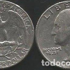 Monedas antiguas de América: E.E.U.U. 1967 - 25 CENTS (QUARTER DOLLAR) - KM A164A - CIRCULADA. Lote 177074584