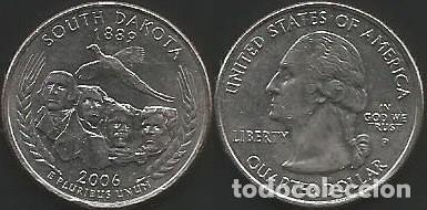E.E.U.U. 2006 P - 25 CENTS (QUARTER DOLLAR) - KM 386 - CIRCULADA (Numismática - Extranjeras - América)