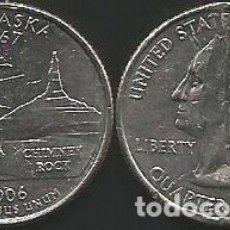 Monedas antiguas de América: E.E.U.U. 2006 P - 25 CENTS (QUARTER DOLLAR) - KM 383 - CIRCULADA. Lote 177075379