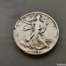 Monedas antiguas de América: MONEDA 1/2 HALF DÓLAR 1934D PLATA WALKING LIBERTY. Lote 177190359