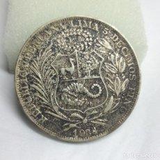 Monedas antiguas de América: MONEDA DE PLATA - 1 SOL DE LIMA, PERU (1934). Lote 177304717