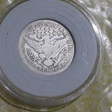 Monedas antiguas de América: MONEDA PLATA ESTADOS UNIDOS QUARTER DOLAR 1900 S. Lote 177462888