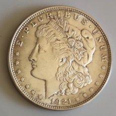 Monedas antiguas de América: DÓLAR DE PLATA 1921 MODELO MORGAN USA. Lote 177622538