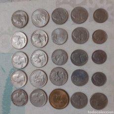 Monedas antiguas de América: GRAN LOTE VARIADO DE MONEDAS AMERICANAS. Lote 177658244