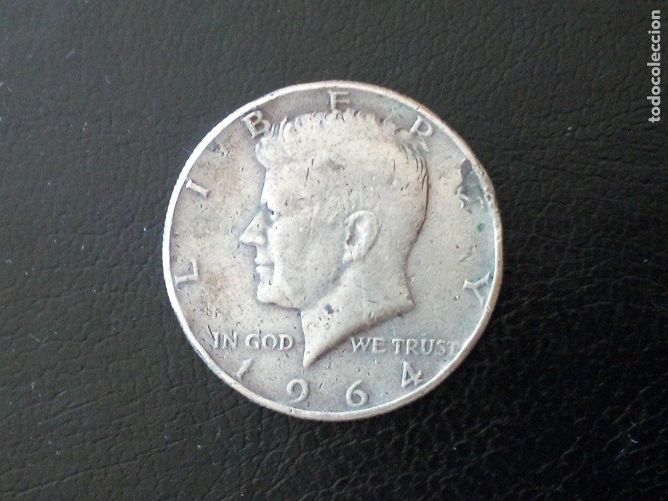 1/2 DOLAR PLATA 1964 KENNEDY (Numismática - Extranjeras - América)