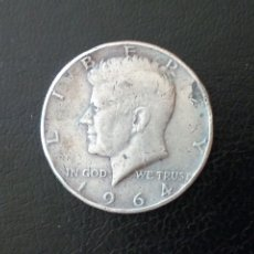 Monedas antiguas de América: 1/2 DOLAR PLATA 1964 KENNEDY. Lote 177704862