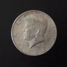Monedas antiguas de América: 1/2 DOLAR PLATA 1964 KENNEDY. Lote 177705412