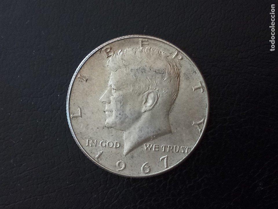 1/2 DOLAR PLATA 1967 KENNEDY (Numismática - Extranjeras - América)